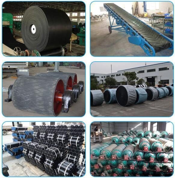 Conveyor belt customized mineral belt conveyor used for mines metallurgy coal industry and paper mill from manufacturer