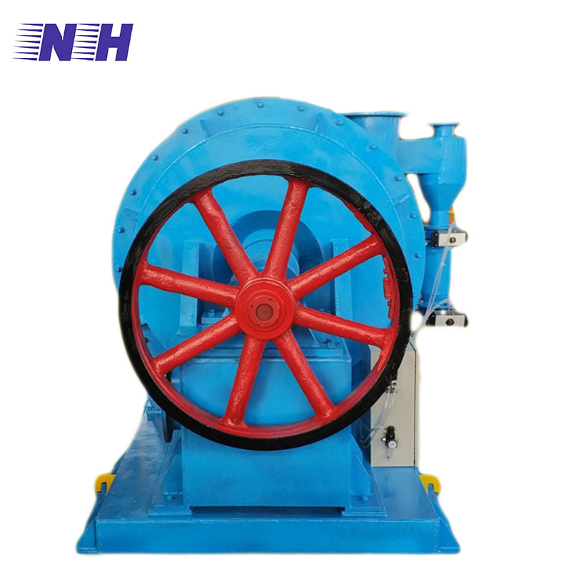 Waster paper pulp recycling single fiber separator for separating light and heavy debris paper pulp process equipment