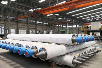 Paper mill rolls for paper making